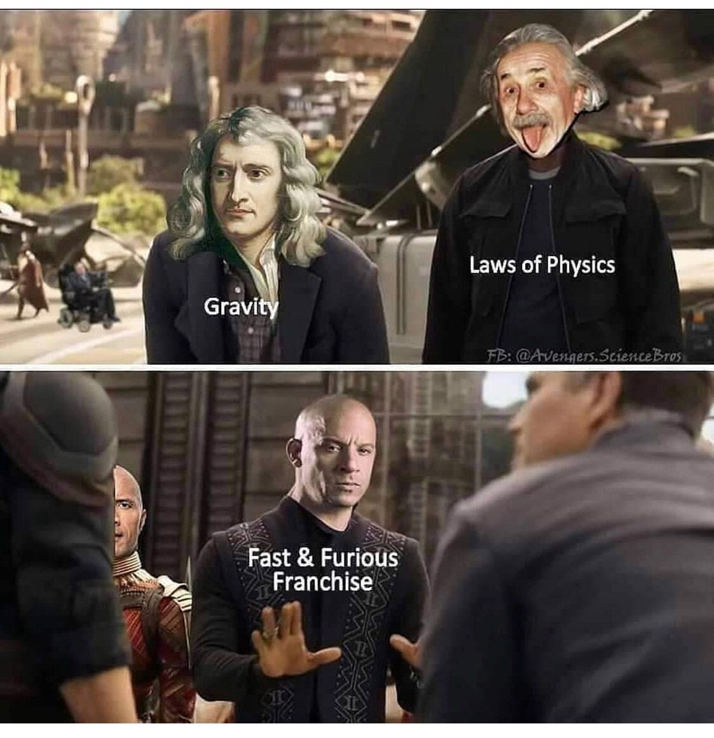 Fast and Furious in a nutshell... in 2020 Super funny