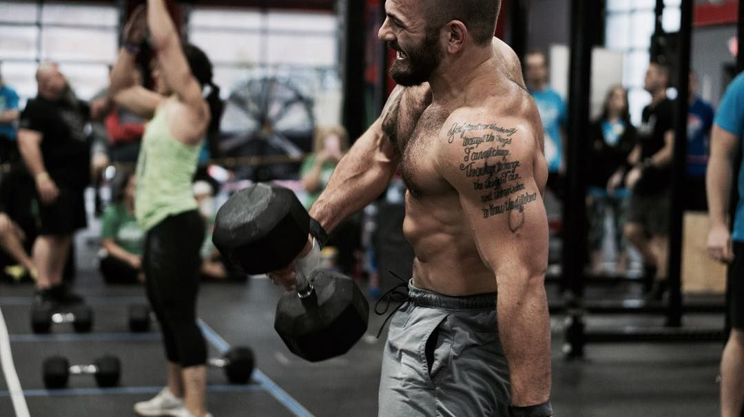 Besides A Professional Crossfit Athlete Mat Fraser Is Also Known For His Tattoos He Has Got Altogether Two Tattoos Crossfit Athletes Celebrity Tattoos Fraser