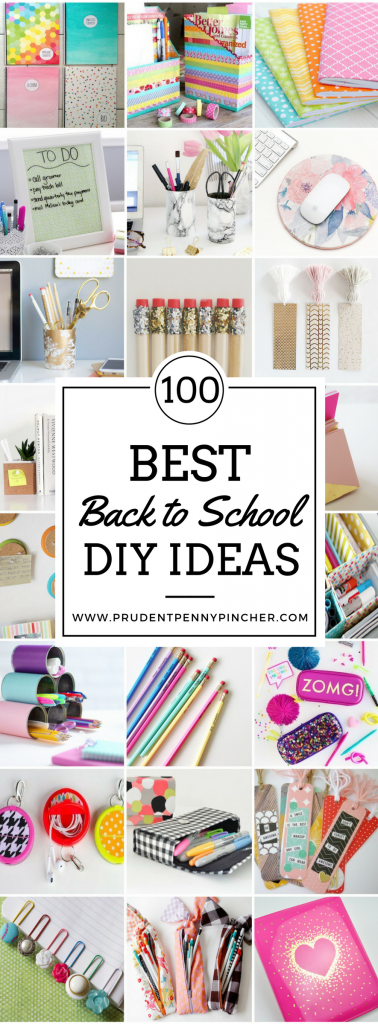 100 Best Back to School DIY Ideas -   18 school crafts show