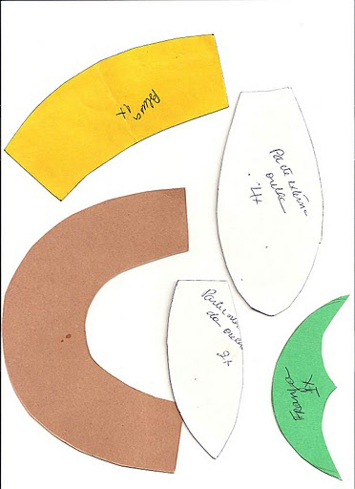Atelier Maria Lamoglia: Molde de presente ( tirado da Net)