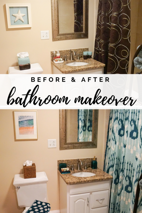 Bathroom Makeover With Target Opalhouse Bathroom Makeover Bathroom Decor Colors Bathroom Decor