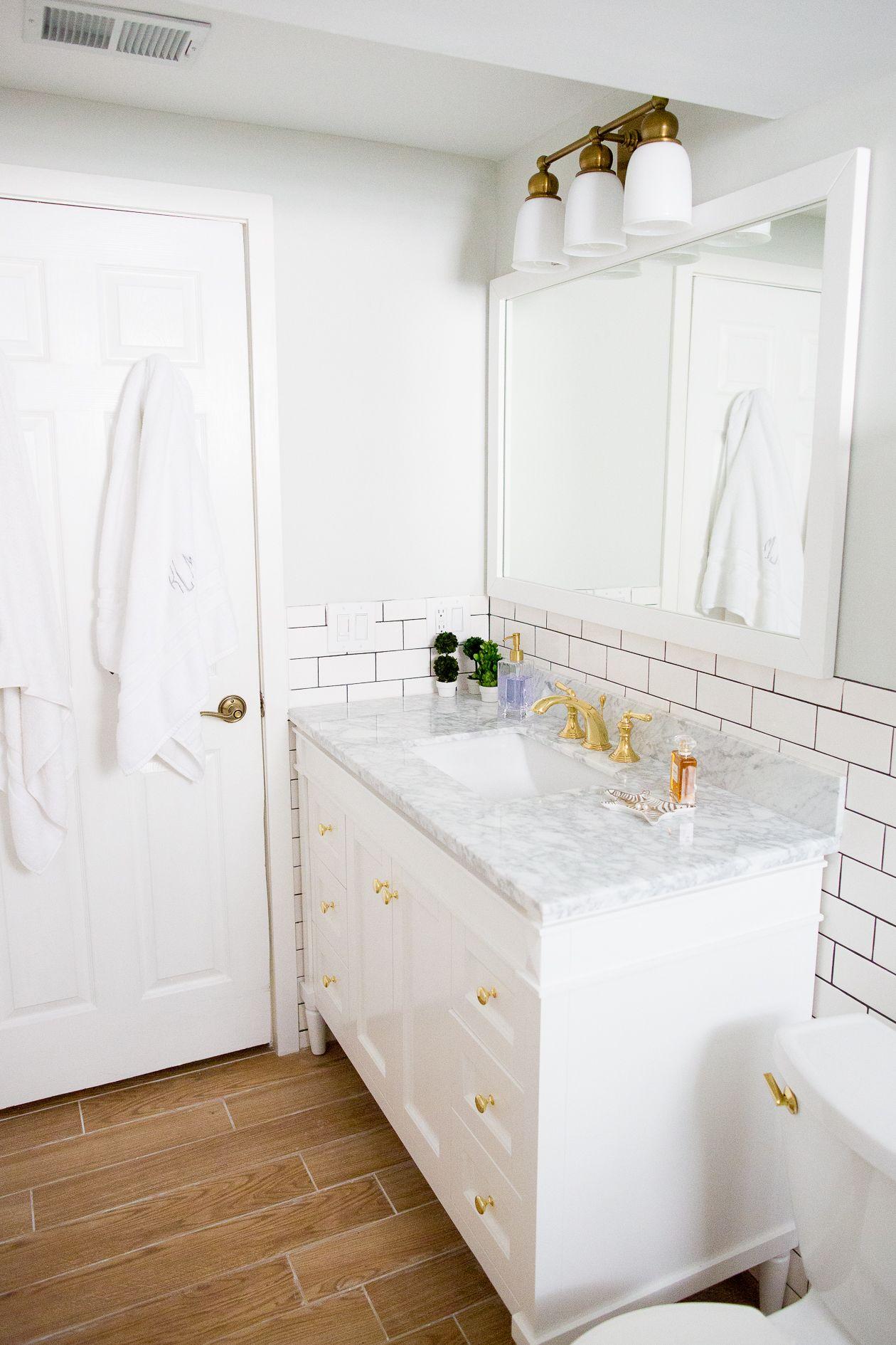 The Reality Of A Gut Bathroom Renovation Brass Bathroom Polished - How to gut a bathroom