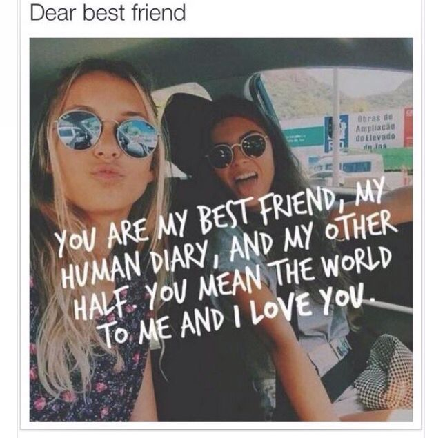 Friendship Quotes Bff Bestie You Are My Best Friend My Human