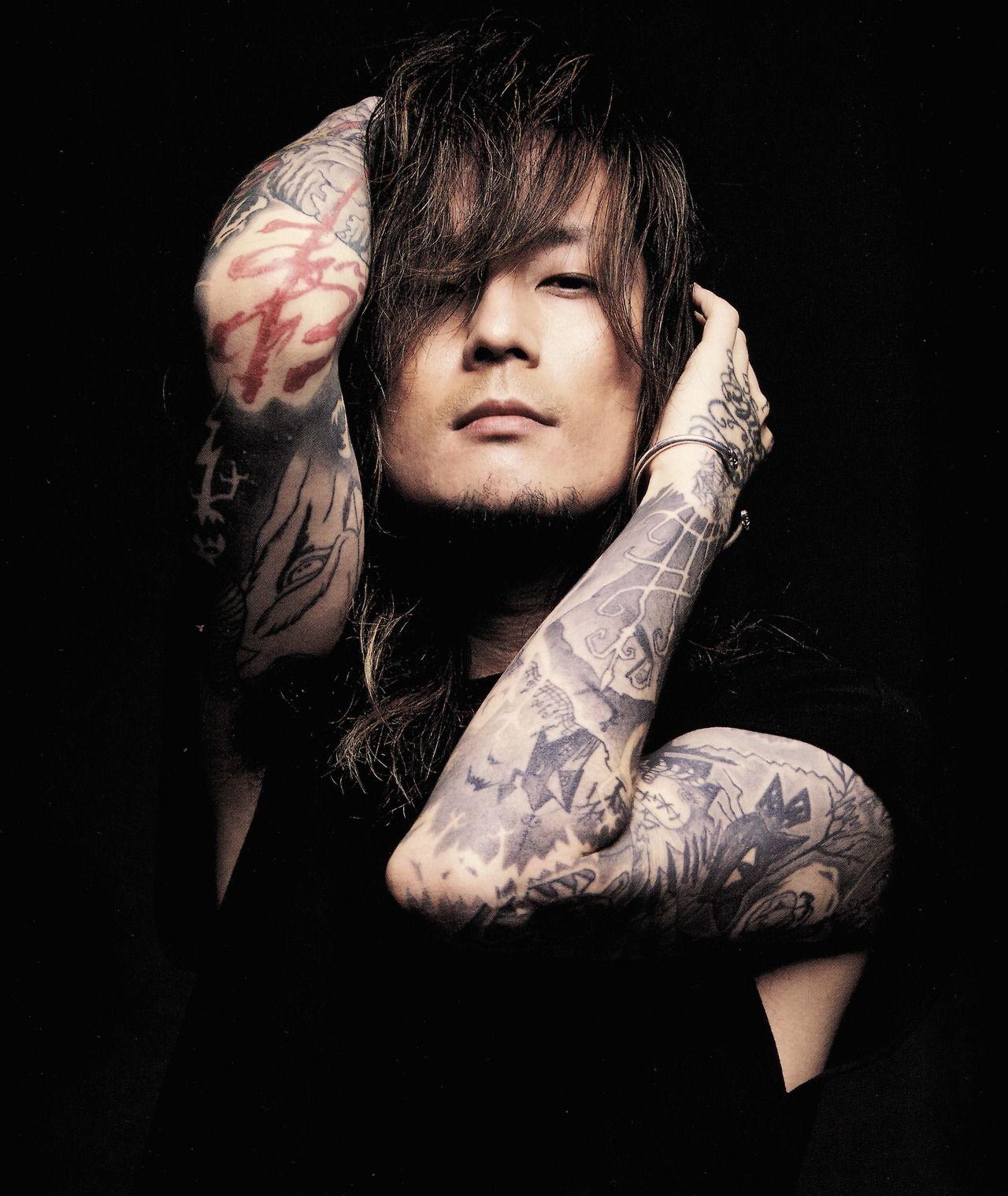 Dir en grey, Kaoru, tattoos | Dir en grey dreams | Dir en ...