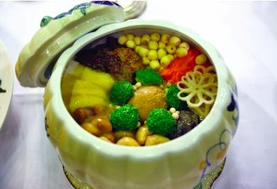 Soupe aux légumes - 素汤福寿全