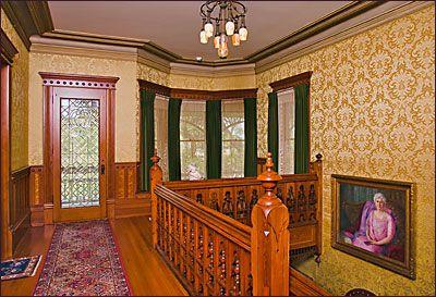 Second Floor Front Hallway