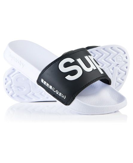 Superdry Rose Gold & Black Solid Sliders clearance marketable 7BdpNpm