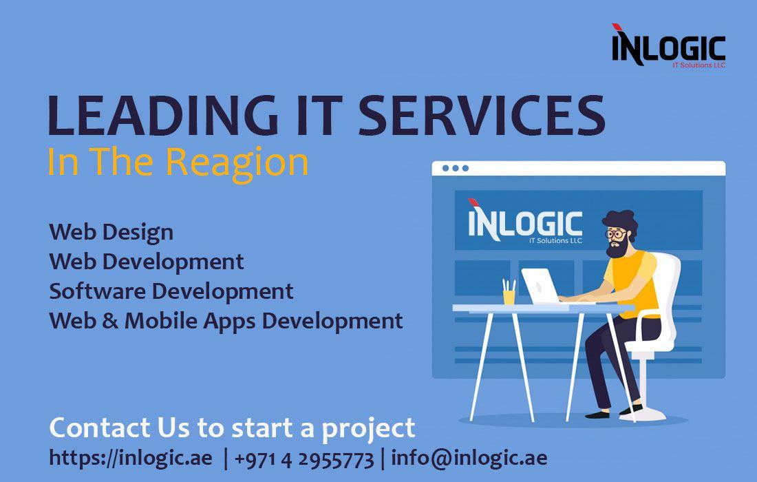 Inlogic Leading It Company In Uae Web Design Online Web Design Web Development Software