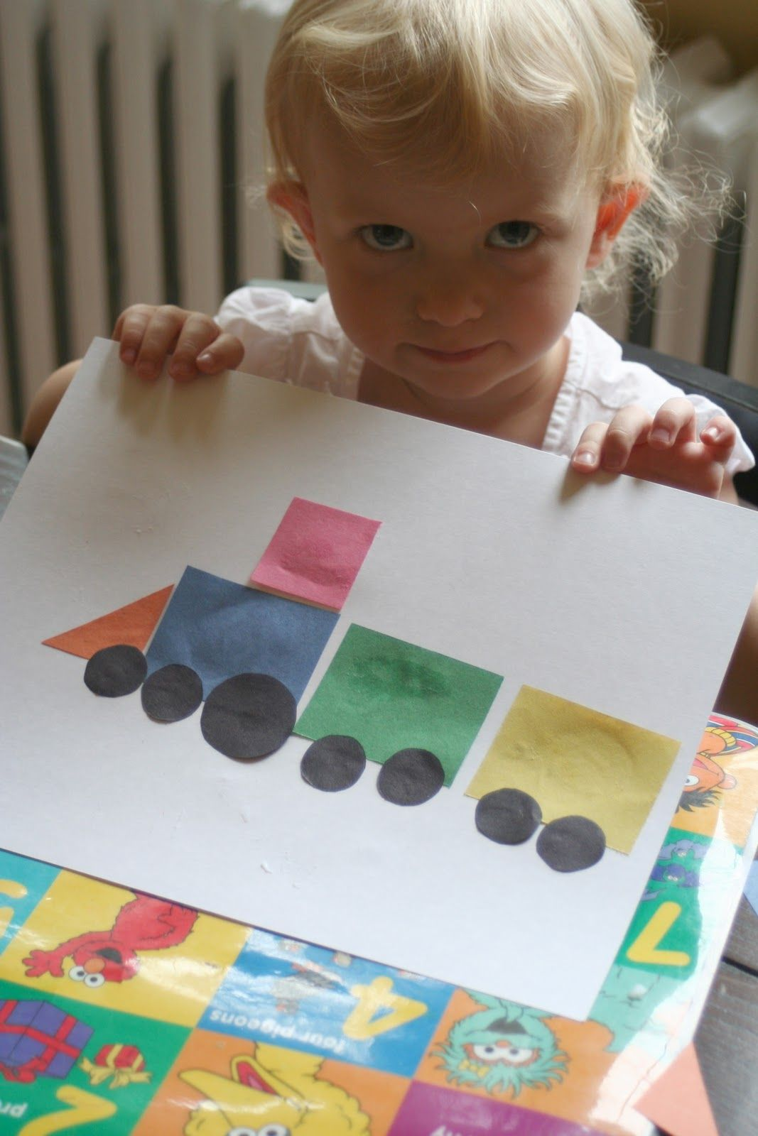 Learn Shapes By Making This Train Classroom Showcase By