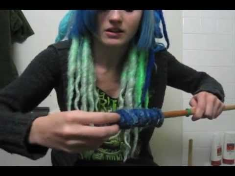▶ How To Make Synthetic DE Curly Dreads - YouTube
