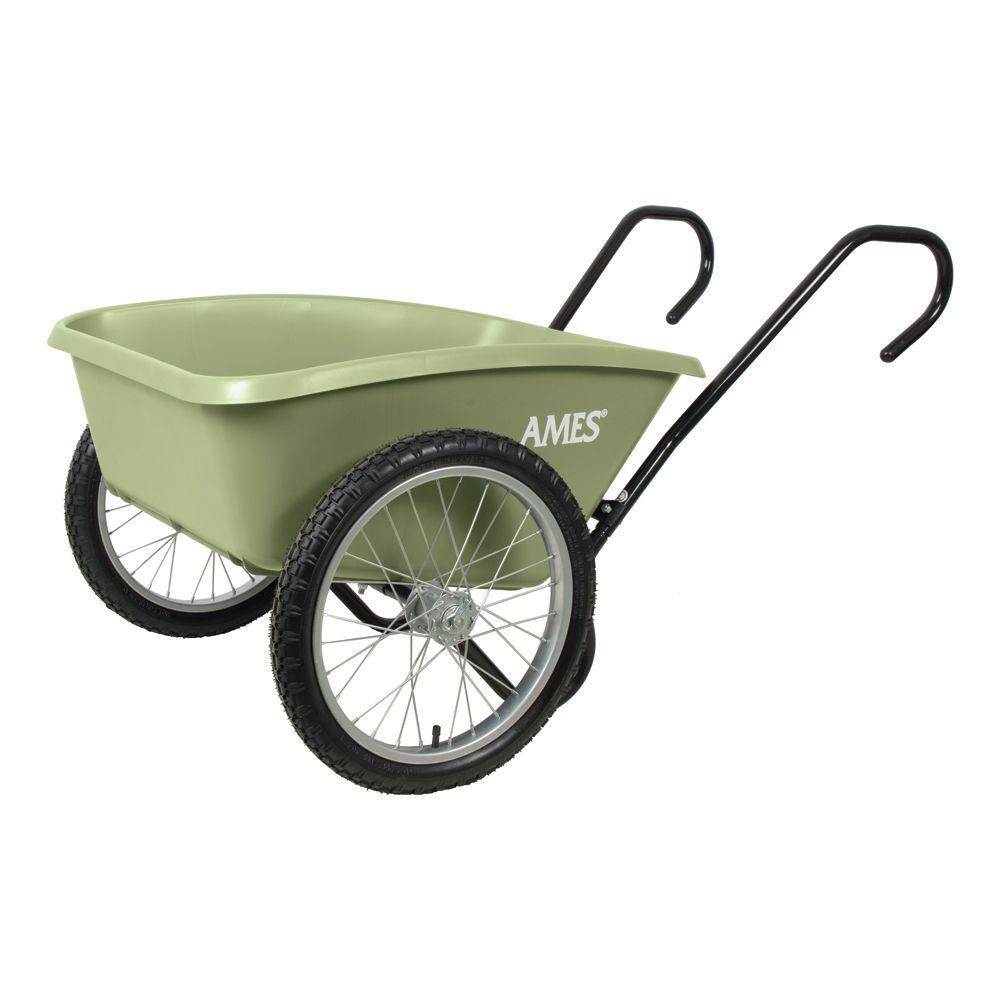 Ames 5 Cu Ft Total Control Garden Cart Tccarth Garden Cart Wheelbarrow Garden Tools