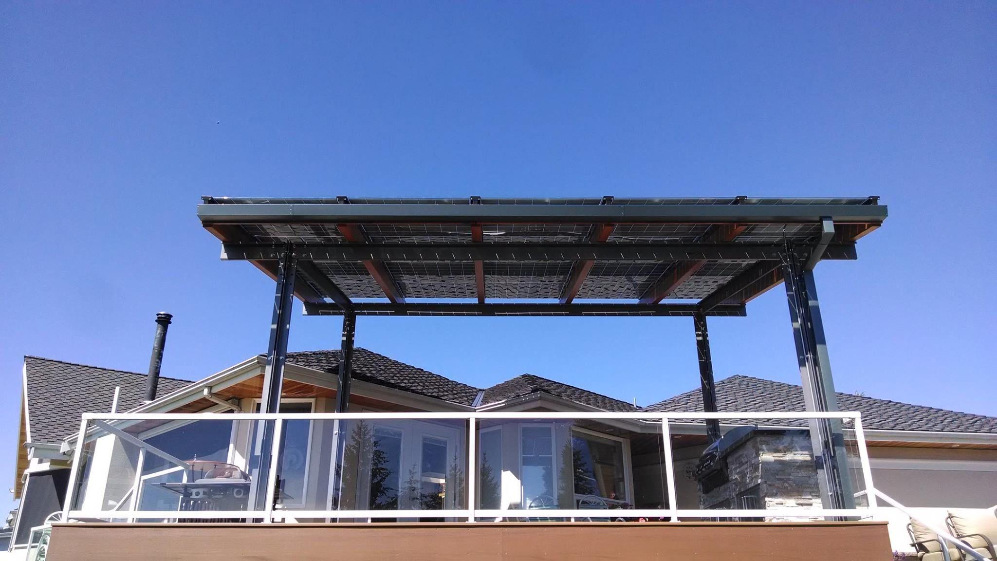 Silicon Energy Cascade Series Solar Pv Patio Cover