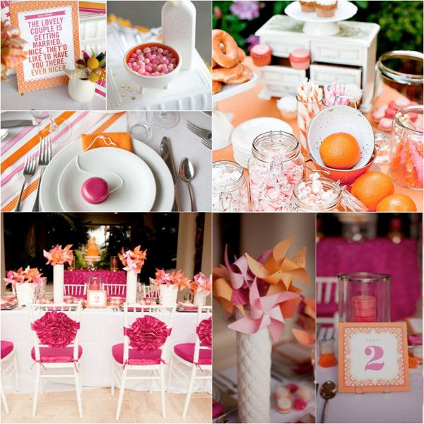 Pink color combination wedding ideas weddings wedding and pink wedding color ideas wedding theme is perfect for summer or fall wedding ideas junglespirit Image collections