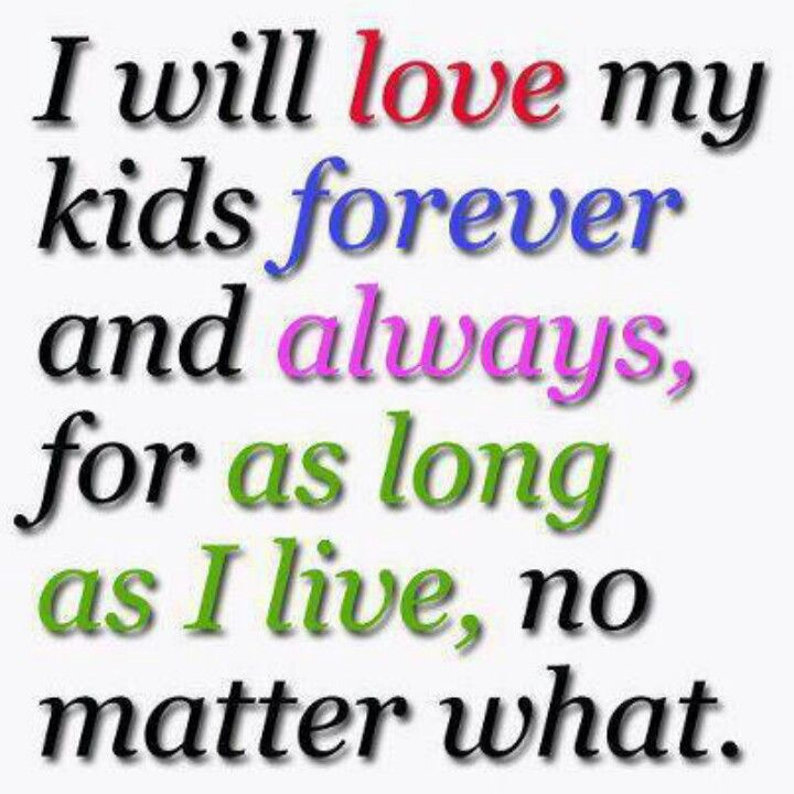 Love my kids