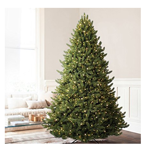 Top 10 Best Artificial Christmas Trees In 2019 Reviews Best Artificial Christmas Trees Cool Christmas Trees Fir Christmas Tree