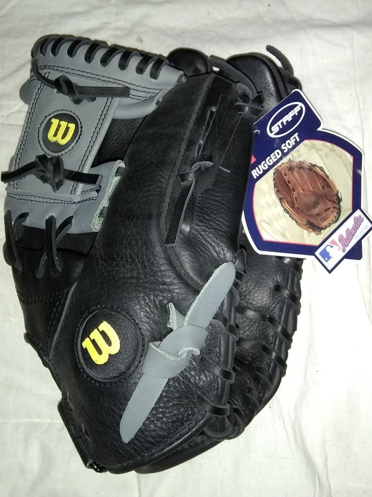 New Wilson Baseball Glove A0700st115 11 1 2 Black Canyon Leather Gray Wilson Baseball Glove Tigers Baseball Baseball Training