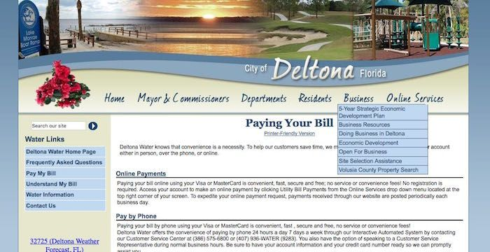 Deltona water pay online