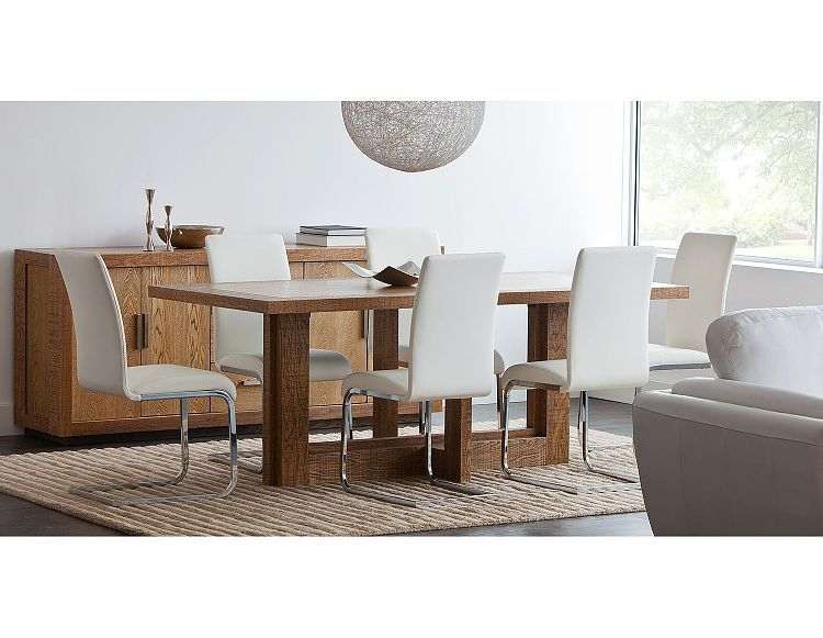 Structube dining room chairs boston white