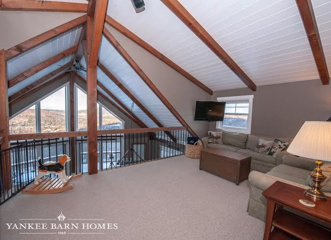 The Barn House Loft at Moose Ridge Lodge