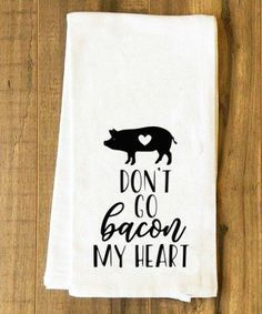 Don't Go Bacon My Heart SVG DXF EPS PNG Cut File • Cricut • Silhouette #cricutvinylprojects
