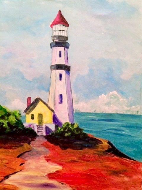 Pin de karin dickson en paint class pinterest faro for Painting with a twist fenton mi