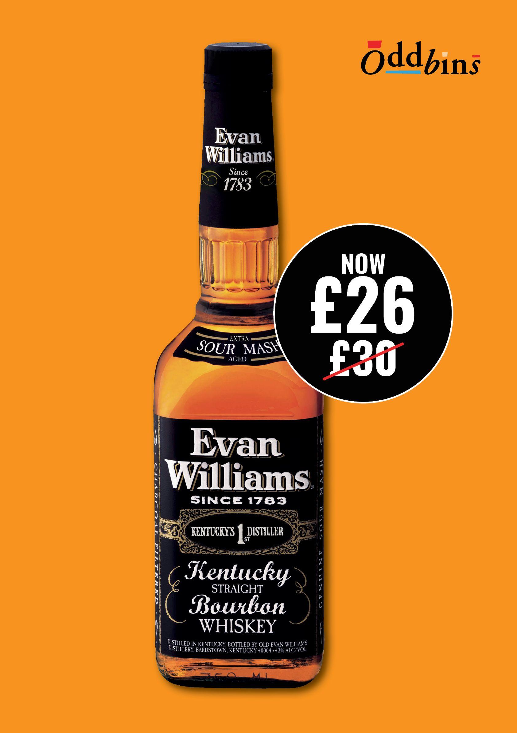 Evan williams extra age bourbon kentucky straight