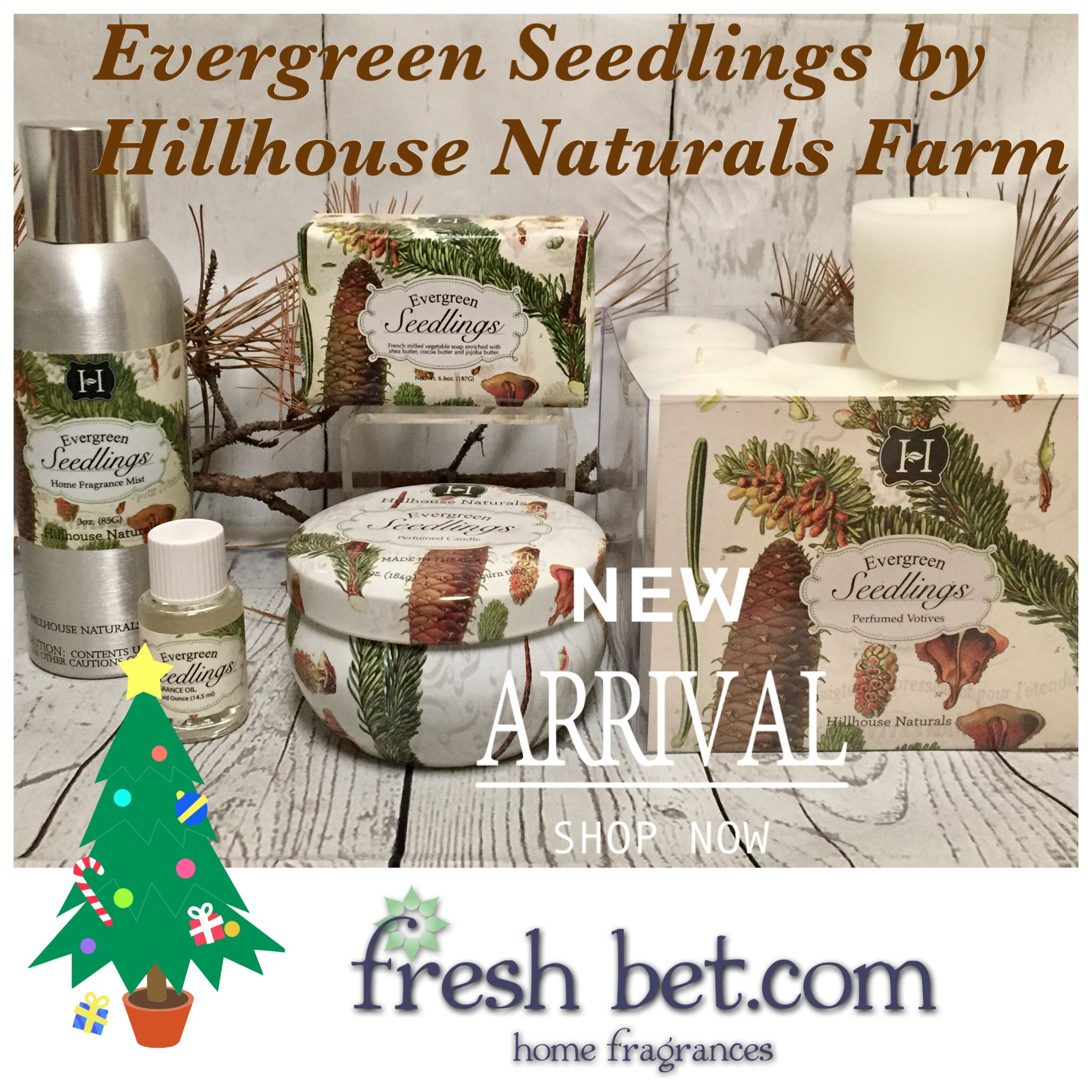 Inspired By Visits To A Christmas Tree Farm Made In Kentucky Evergreen Seedlings Combines Pine Spruce Favorite Things List Christmas Tree Farm Tree Farms