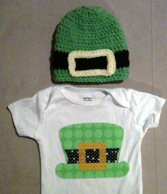St. Patrick's Day outfit for baby boys  Leprechaun by rbsDesigns