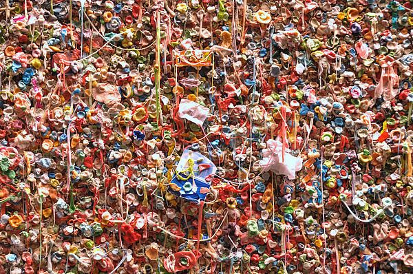 Famous Seattle Gum Wall 2