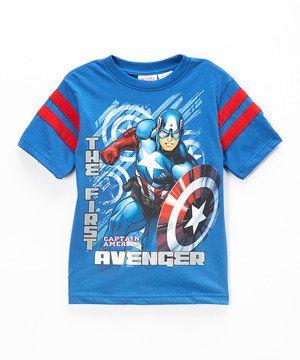 Marvel Boys Captain America The First Avenger T-Shirt