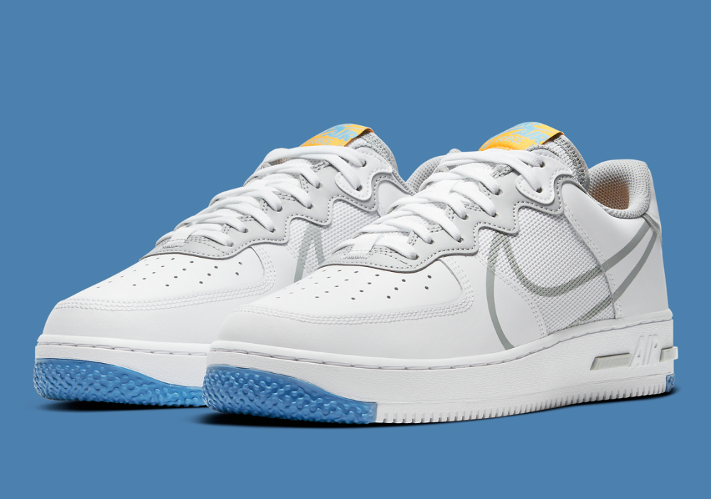 Nike Air Force 1 React CT1020100 Release Date em 2020 Tenis