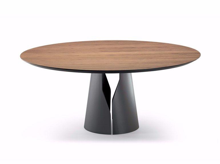Mesa de comedor redonda GIANO by Cattelan Italia diseño Maurizio ...