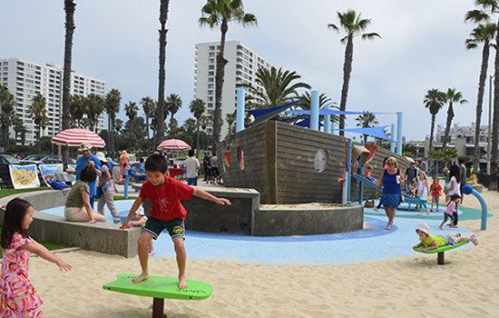 Best Parks For Los Angeles Kids South Beach Park Santa Monica