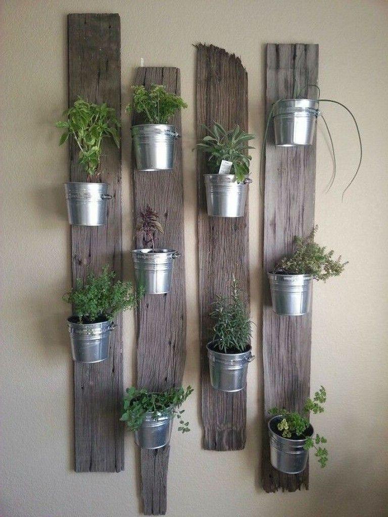 25+ Creative Ways to Make Your Indoor Herb Garden Today #kräutergartendesign