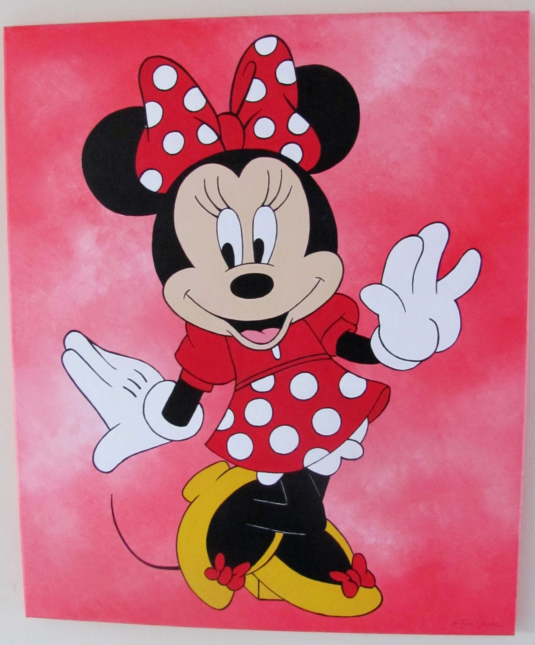 Minnie mouse wallpaper minniemouse - Minnie mouse wallpaper pinterest ...