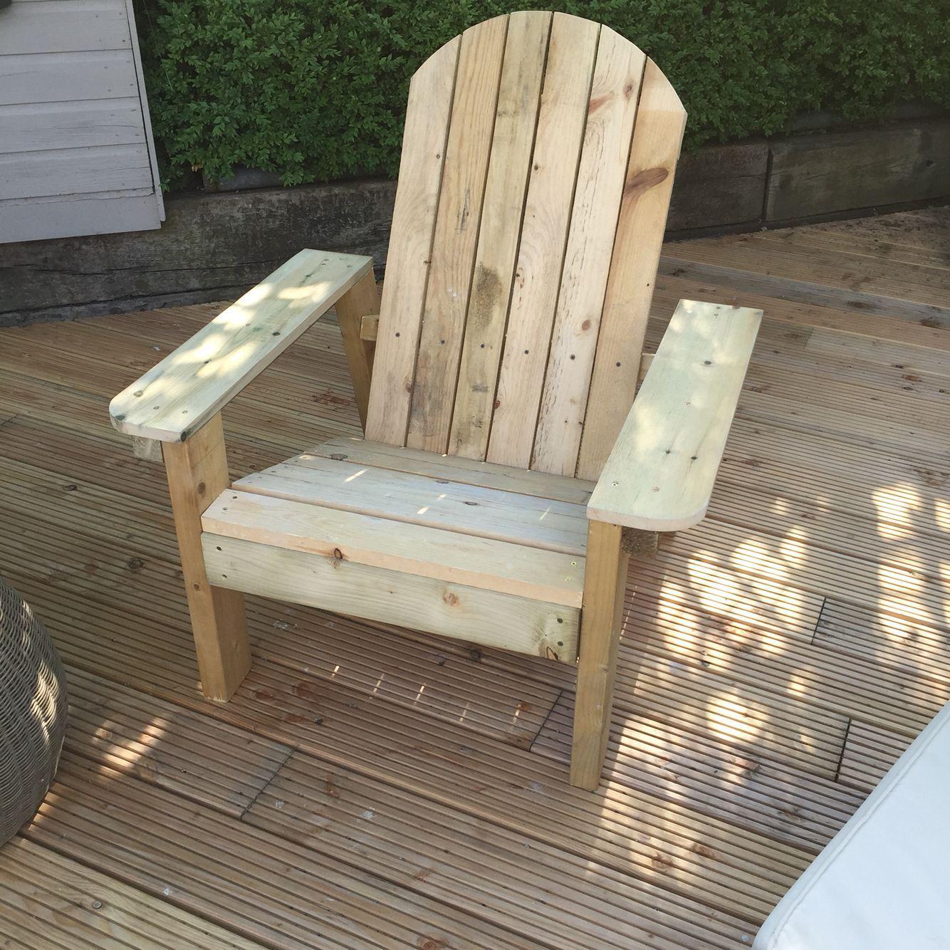 Lovely Wooden Deck Chair Plans Home depot adirondack