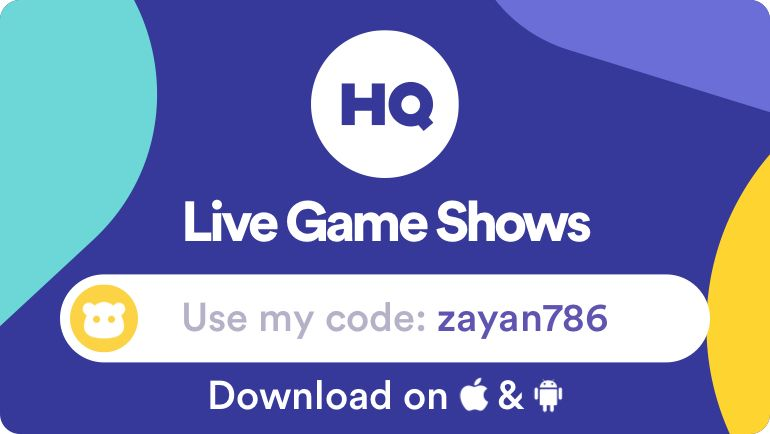 Pin by Saim on Online play to earn real money Hq trivia