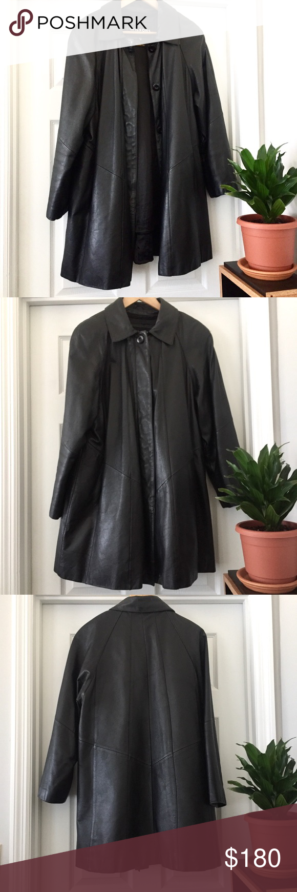 RESERVED Wilsons Leather Thinsulate Long Jacket Clothes
