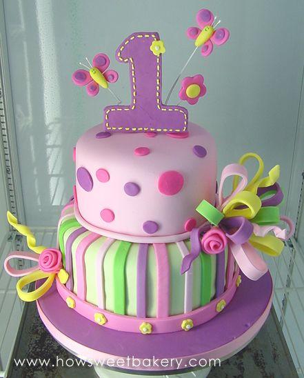 1st Birthday Cakes For Girls