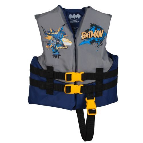 Image For Exxel Outdoors Kids Warner Brothers Batman Life Vest