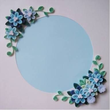 Paper quilling patterns tutorial craft designs also best frames images cadre photo do crafts rh pinterest