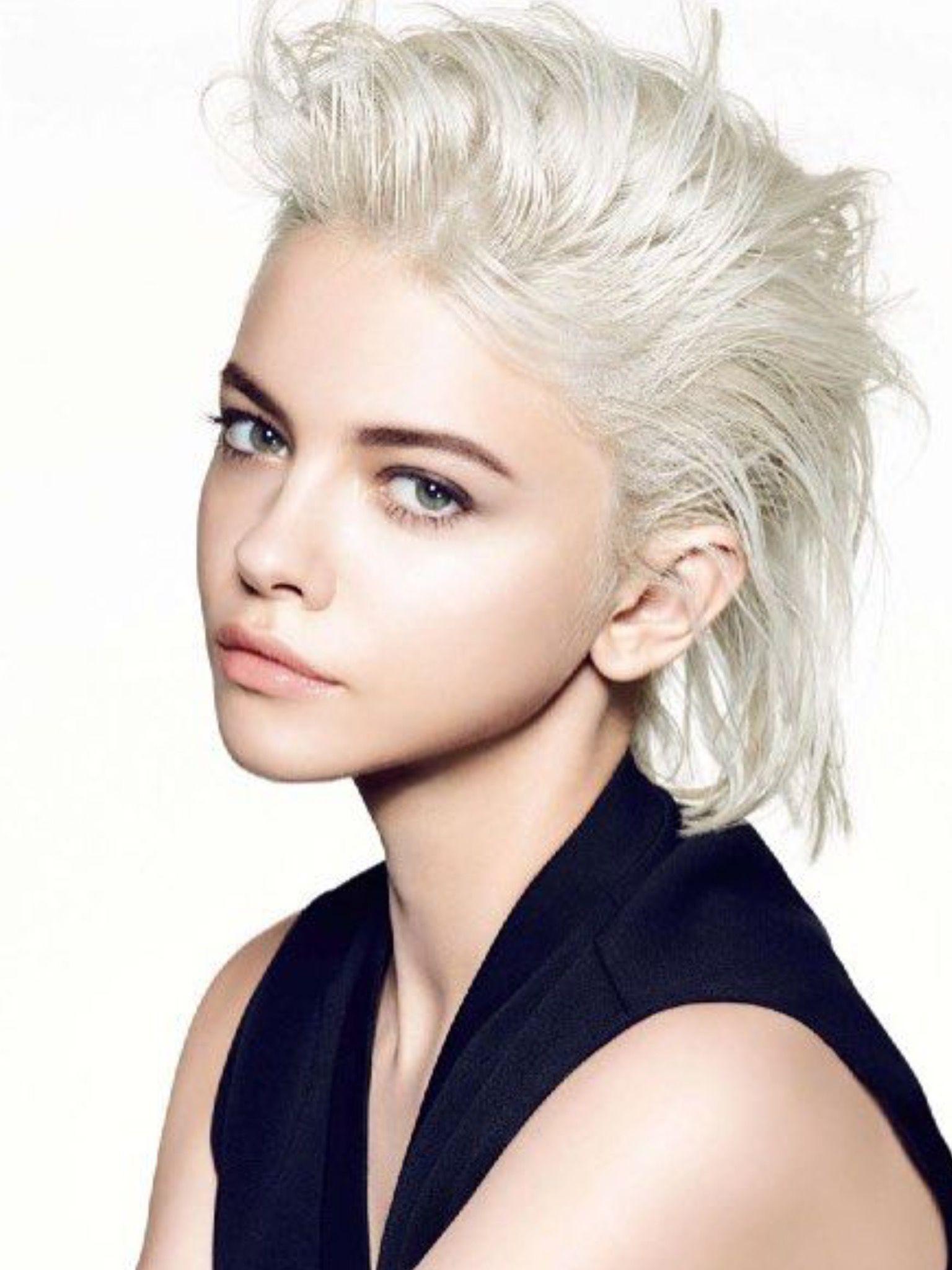 Kira rausch gorgeous platinum blonde hair pinterest short hair