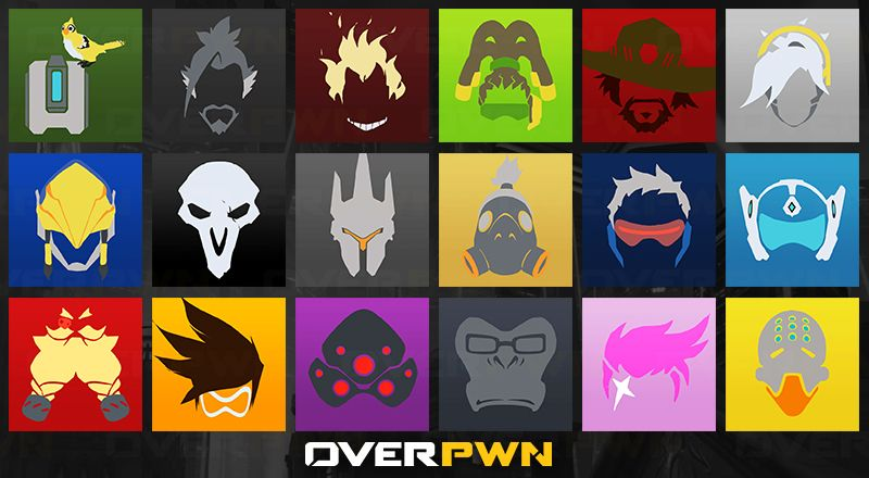 overwatch character icons - Google Search | Overwatch