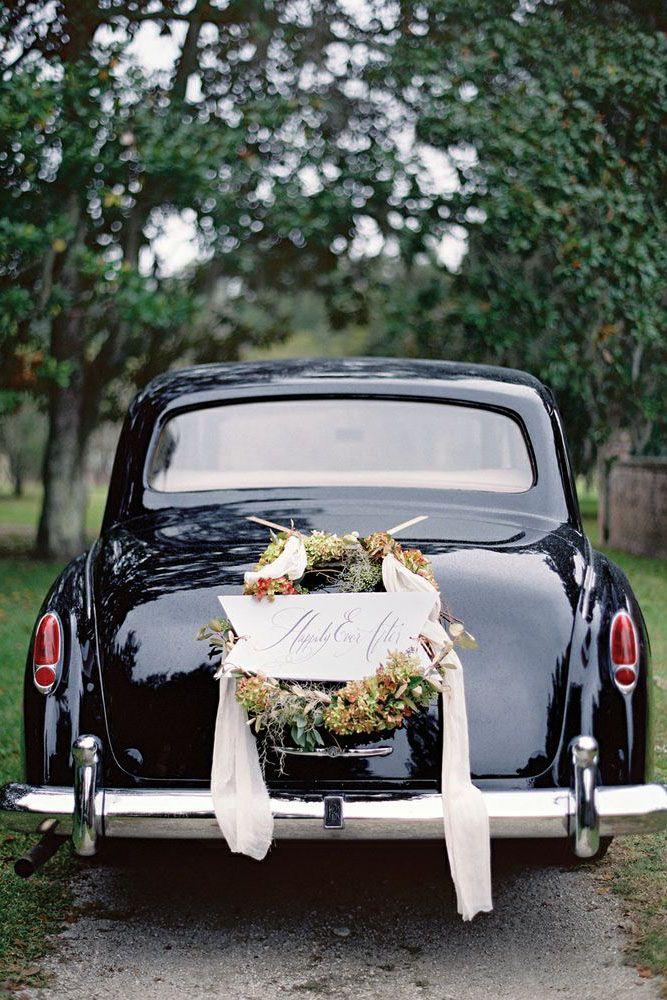 36 Vintage Wedding Car Decorations Ideas Wedding Pinterest