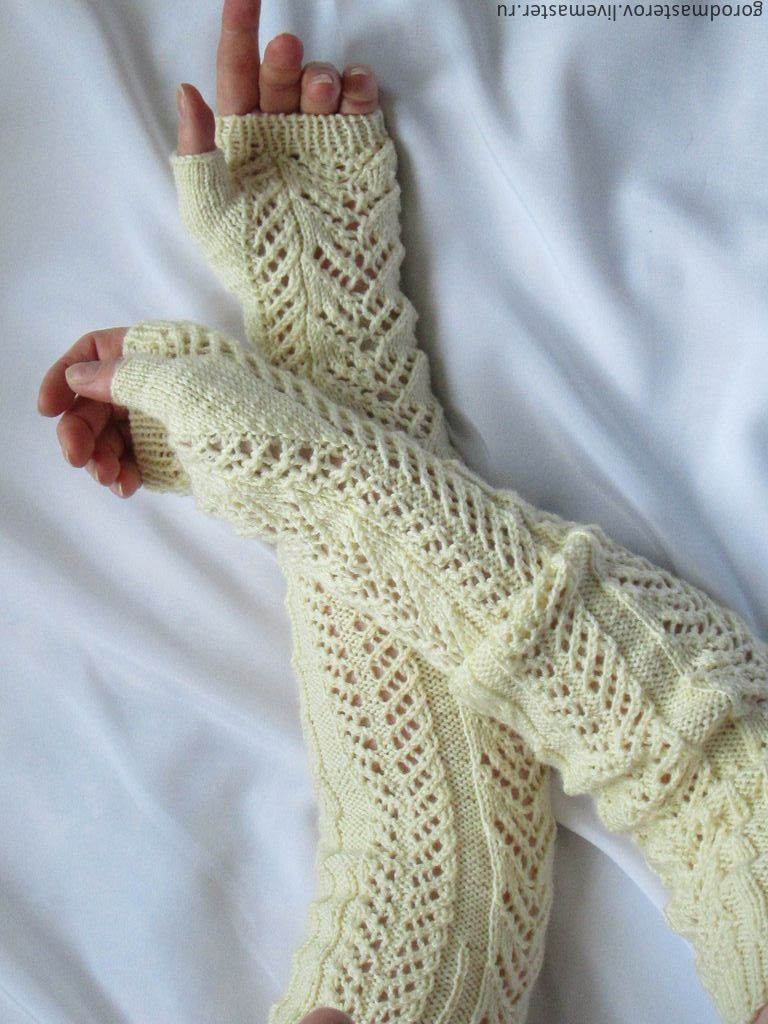 Вязание гетров и минеток