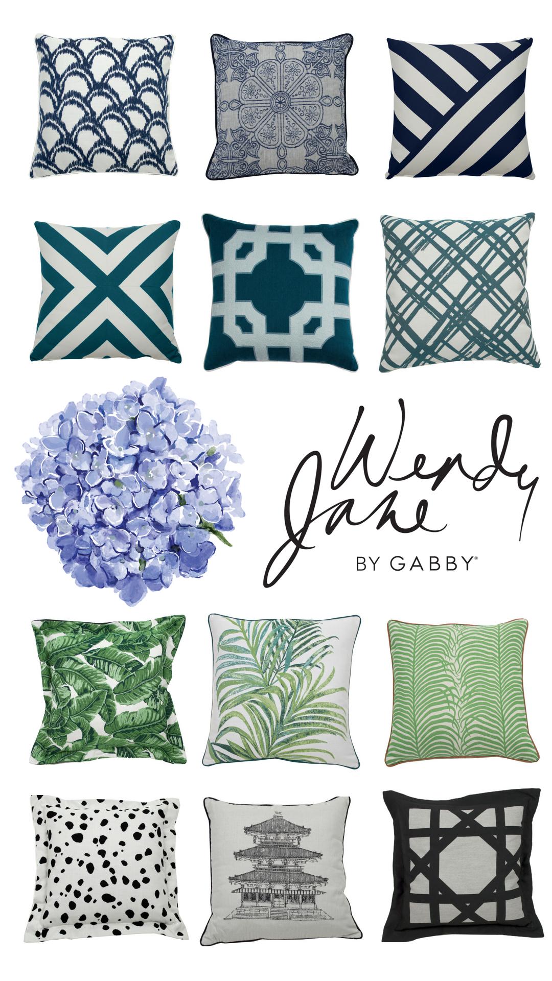 Throw Pillow Styling Outdoor Pillows Summer Clics Furniture High Point Market