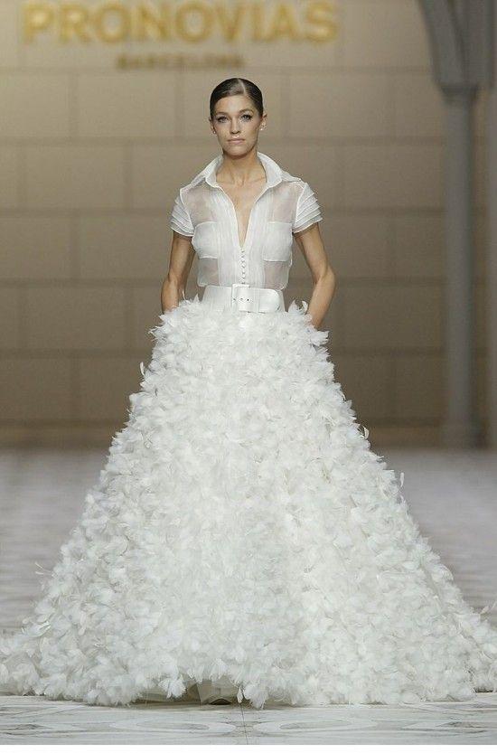 Pronovias Bridal Spring 2015 - Blackbride.com