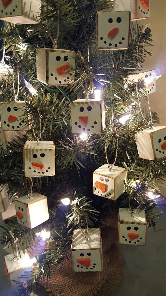 Homemade Primitive Christmas Tree Ornaments For A Traditional