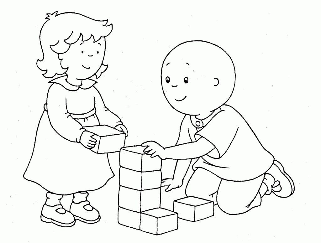nice Caillou Coloring Pages SelfColoringPages | Mcoloring | Pinterest