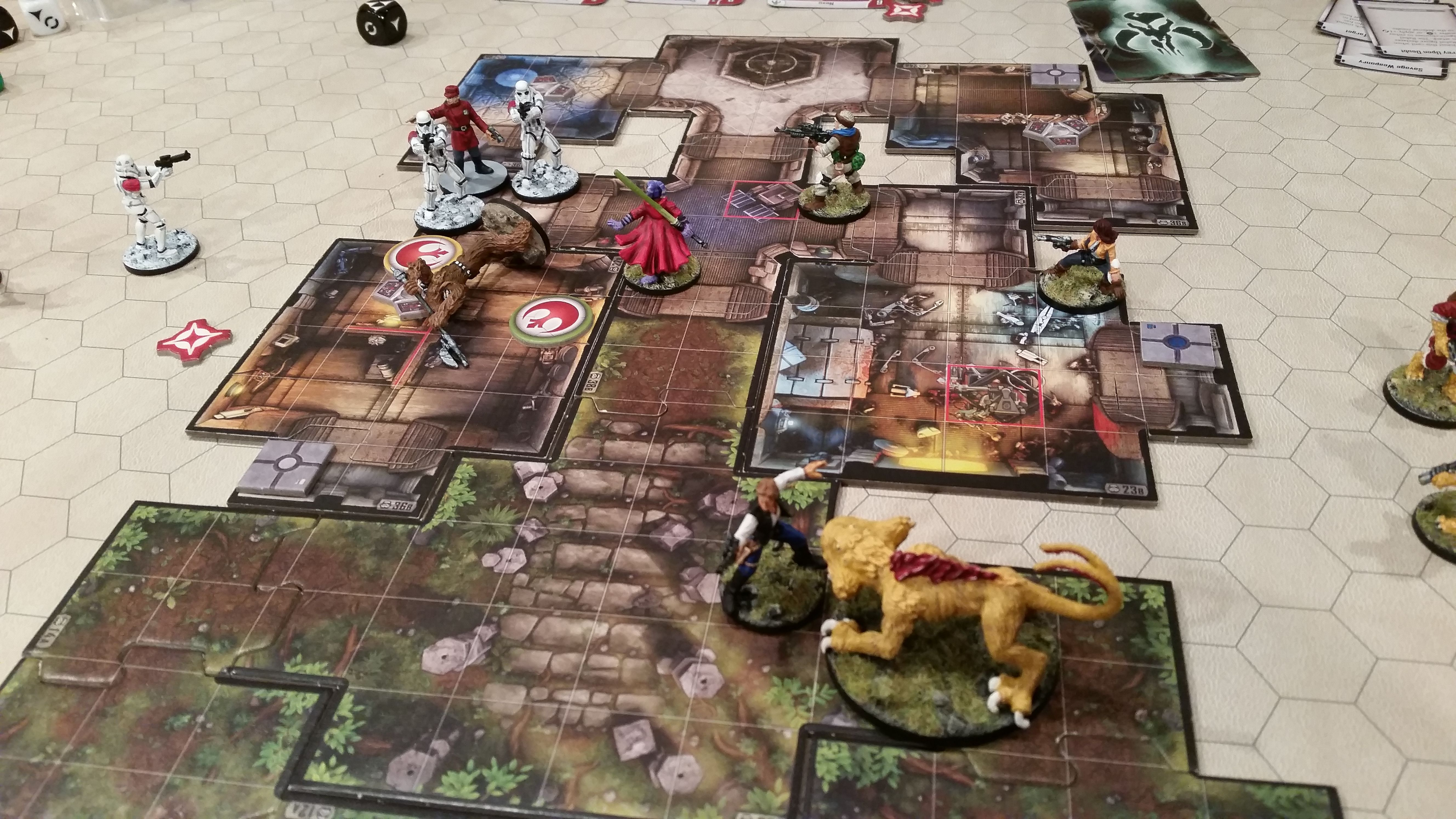 "#ImperialAssault ""In Coming"" Then the aerial bombardment started..."